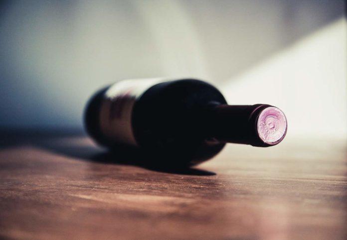 flesje wijn