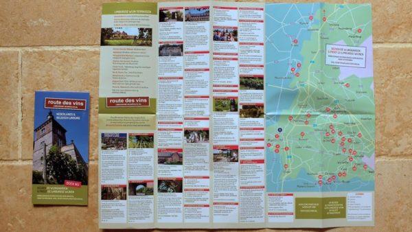 Limburgse wijnroutekaart